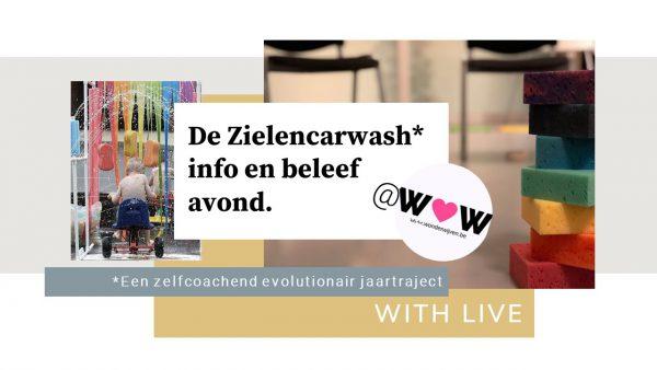 15/4 Info en beleefavond, maak kennis met de Zielencarwash @Wommelgem